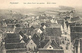 Pfullendorf - Old Pfullendorf in 1900