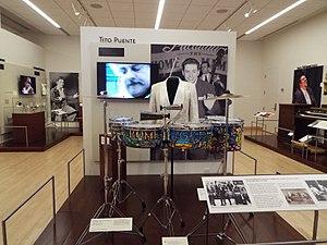 Timbales - Image: Phoenix Musical Intrument Museum Tito Puente exhibit 2