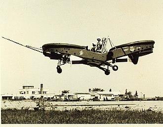 Piasecki VZ-8 Airgeep - Piasecki AIRGEEP II (Army), first flight