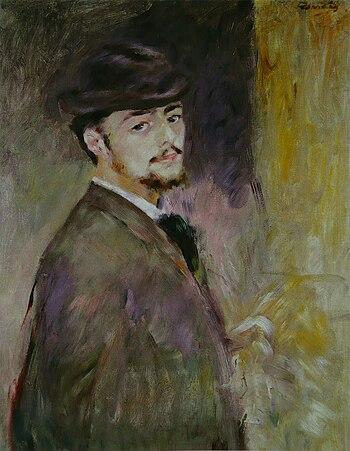 Pierre-Auguste Renoir - Autoportrait %281876%29