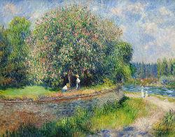 RENOIR Pierre-Auguste Chestnut Tree in Bloom 1881