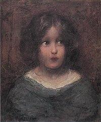 Piet Mondriaan - Girl looking to her left - A139 - Piet Mondrian, catalogue raisonné.jpg