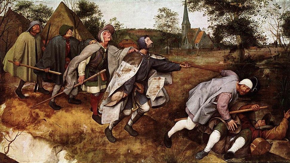 Pieter Bruegel the Elder - The Parable of the Blind Leading the Blind - WGA3511