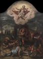 Pieter Coecke van Aelst (?) - Tríptico da Ressurreição.png