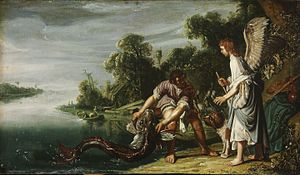 1625 in art - Pieter Lastman – The Angel and Tobias with the Fish