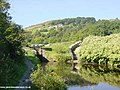 Pig Tail Lock, Huddersfield Canal, Marsden - geograph.org.uk - 2185.jpg