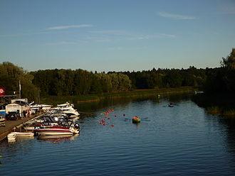 Pirita (river) - The Pirita river near its mouth in Pirita, Tallinn.