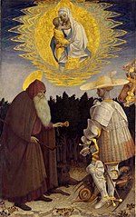 Vision of the Madonna by Saint Anthony and Saint George