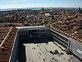 Plaça de Sant Marc des del campanar homònim - Venècia.JPG