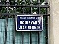 Plaque boulevard Jean Mermoz Neuilly Seine 1.jpg