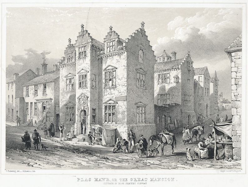 File:Plas Mawr, or, The Great Mansion - situate in High Street, Conway.jpeg
