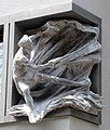 Plastik des Raimund von Penyafort geschaffen von Wolfgang Eckert am Offizialat der Erzdiözese Freiburg.jpg