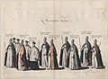 Plate 12- Members of the clergy marching in the funeral procession of Archduke Albert of Austria; from 'Pompa Funebris ... Alberti Pii' MET DP874747.jpg