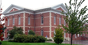Platte County, Missouri - Image: Platte courthouse