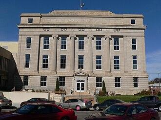 Platte County, Nebraska - Image: Platte County Courthouse (Nebraska) 2