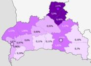 Poles in Bresckaja voblasć, Belarus (2009 census)
