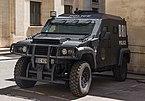 Police BRI armoured Panhard car Paris France.jpg