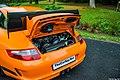 Porsche 911 (997) GT3 RS 3.6 - capot arrière ouvert.jpg