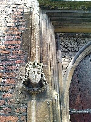 All Hallows' Church, Tottenham - Image: Portal All Hallows Church