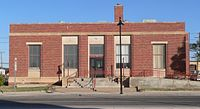 Portales, New Mexico, post office from SE 1.JPG