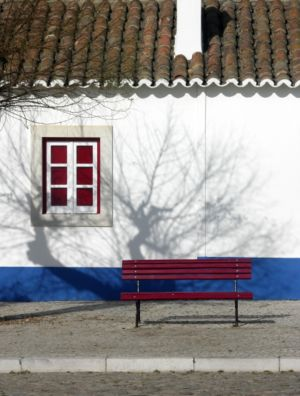 Typical house in Porto Covo, Portugal