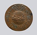 Portrait medal of Don Inigo d'Avalos (obverse); Sphere Representing Earth, Sea, and Sky (reverse) MET DP-12452-02.jpg