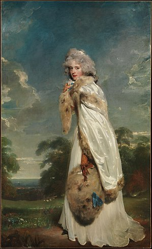 Edward Smith-Stanley, 12th Earl of Derby - Image: Portrait of Elizabeth Farren, by Thomas Lawrence
