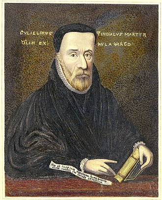 William Tyndale - Portrait of William Tyndale (1836)