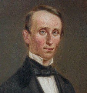 Portrait of William Walker by George Dury (cropped)