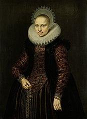 Portrait of Brechtje Overrijn van Schoterbosch (1592-1618)