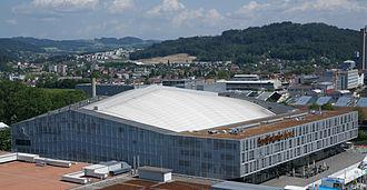 2009 IIHF World Championship - Image: Post Finance Arena Luftbild 2011