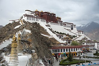 Potala Palace - The Potala Palace in Lhasa.