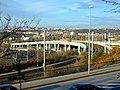 Praha, Žižkov, tramvajová estakáda II.jpg