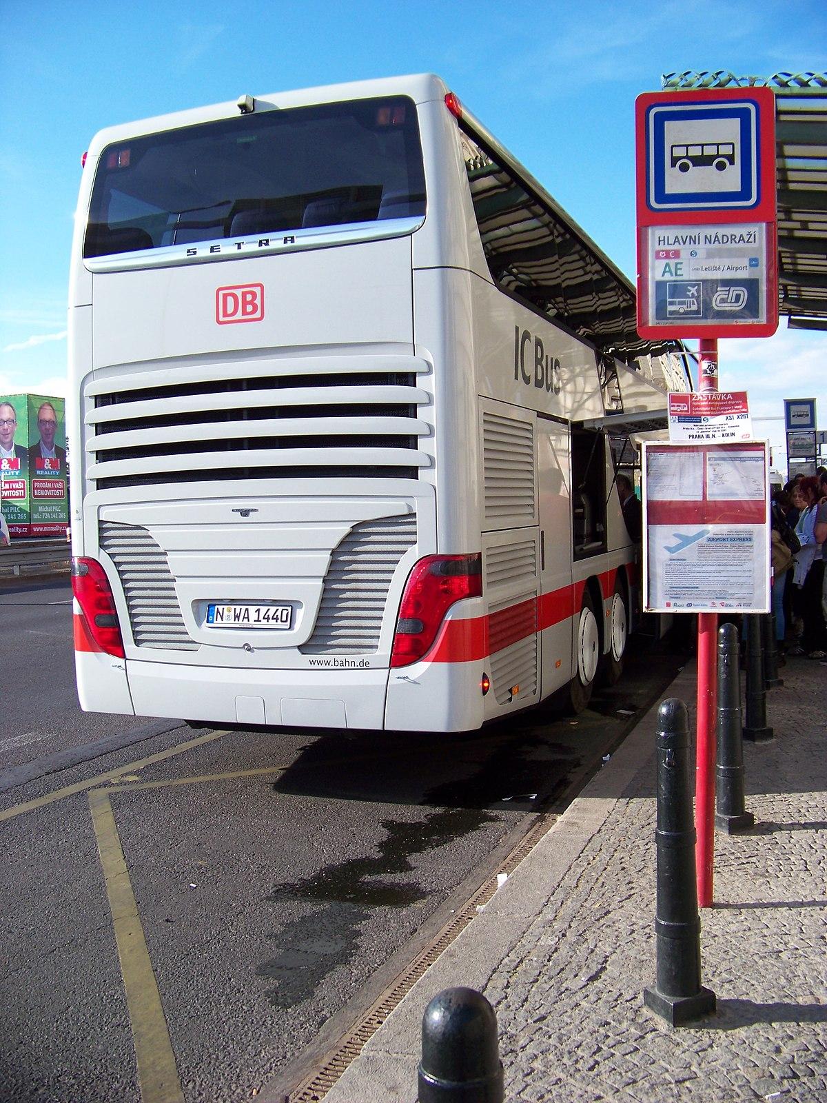 File Praha Hlavni Nadrazi Ic Bus Nurnberg 03 Jpg Wikipedia