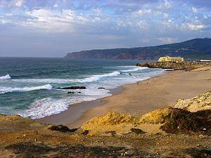 Sintra-Cascais Natural Park - Image: Praia do Guincho