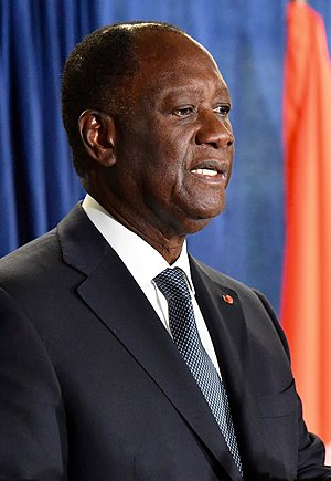 Alassane Ouattara - Ouattara in 2017