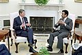 President Ronald Reagan and Prince Bandar.jpg