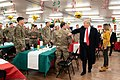 President Trump the First Lady Visit Troops in Iraq (45589824745).jpg