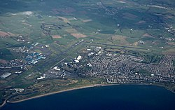 Prestwick Airport from the air, 2019.jpg