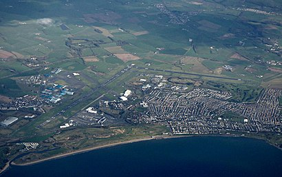 How to get to Glasgow Prestwick Airport with public transport- About the place