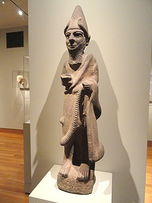 Hittite mythology and religion - Hittite statue of a priest-king