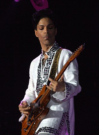 Prince (musician) - Prince performing in April 2008