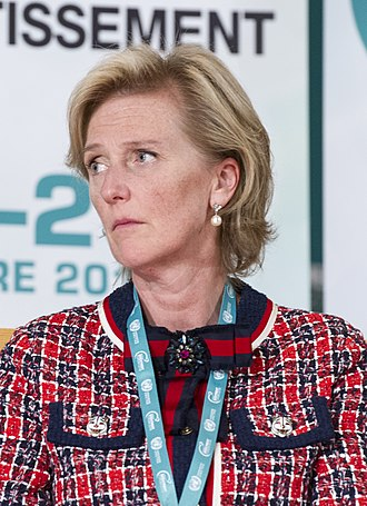Princess Astrid of Belgium, Archduchess of Austria-Este - Image: Princess Astrid at the World Investment Forum 2018 (cropped)