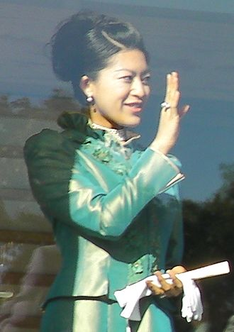 Princess Tsuguko of Takamado - At the Chōwaden Reception Hall (2 January 2009)