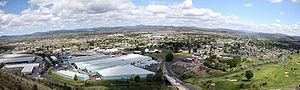 Prineville, Oregon - Image: Prineville Oregon Pano 1
