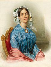 Prinzessin Mariannevon Oranien-Nassau, erste Ehefrau Albrechts (Quelle: Wikimedia)