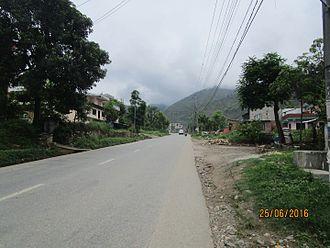 Prithvi Highway - Prithvi Highway at Malekhu