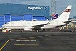 Private, N666ML, Boeing 737-7BC(BBJ) (43427292905).jpg