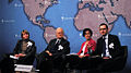 Professor Alena Ledeneva, Laurence Cockroft, Michela Wrong and Paul Kett at Chatham House.jpg