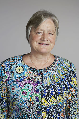 Julia Slingo - Julia Slingo at the Royal Society admissions day in London, July 2015